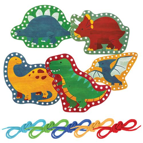 Zoo Lacing Cards