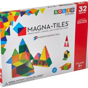 Magna-Tiles 32 Clear Colors
