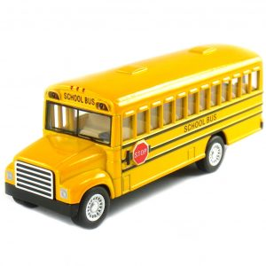 Large Pull-Back School Bus 1
